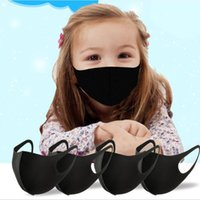 어린이 얼음 실크 마스크 안티 먼지 PM2.5 방진 세척 가능한 재사용 가능한 면화 마스크 성인 어린이 재고 있음