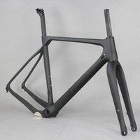 Fahrradrahmen 2021 Vollkohlefaser-Kiesrahmen GR030, Fahrradfabrik Deirirect verkauf kundenspezifische malen männer