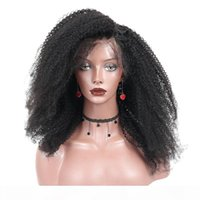 250 Densidade Mongólia Afro Kinky Curly Curly Front Human Human Wigs 4B 4C Cabelo Humano 13x4 Lace Frontal Bob Corte Encerramento Youmay Remy