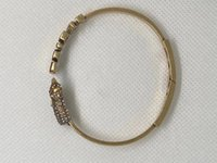 2021 nova carta elefante pulseira aberta fêmea dijia internet temperamento feminino pulseira pulseira