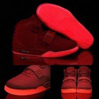 أحمر أكتوبر 2021 Kanye NRG 2.0 S أحذية رياضية عداء غرب رجل رجل مضيئة مضيئة الوحيد Octobers مدربين رياضي الأحذية عارضة SBWPP #