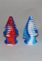 Hookahs Pessoal Bongs Dip Dicas Bombinhos Não Saco Bocal De Silicone Filtro Para Bongo Tubulação de Água Mouthpeace Dab Rigs Glass Nectar Collector 2021