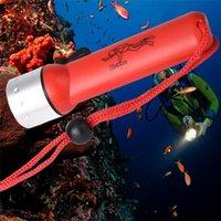 Alta qualità subacquea 1200LM XM-L T6 LED Torcia da immersione Torcia Lampada impermeabile # 4J17 torce torce