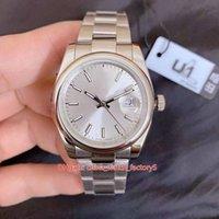 Relógios de alta qualidade de fábrica de U1 8 Estilo Unisex 36mm 126234 126200 Datejust Ásia 2813 Movimento Mecânica Mãos Automático Assistir relógios de pulso das mulheres