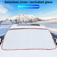 Magnets Winter Waterproof Car Covers Windshield Cover Thickening Anti-frost Outdoor Snow Glass Auto Accessory Sunshade