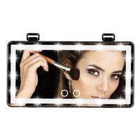 Kompakt Aynalar Makyaj Aynası LED Işık Ile 3 Aydınlatma Modu 10x Büyütme Vanity 60leds Seyahat Kadın Hediye