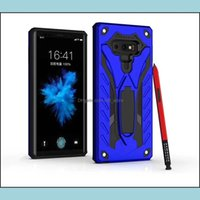 Cases Phone Aessories Cell Phones & Aessoriesfor Samsung Galaxy S10E S10 S9 Note 9 A6 Plus Dual Layer Protection Hybrid Armor Case With Kick