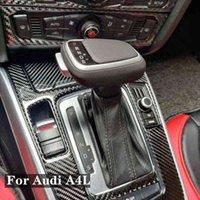 Для A4 B8B7B6 Q7 A5 B8 A6 C6C7 A7 Q5 S5 S6 кожаная ручка, автоматическая ручка передач, интерьерные детали.