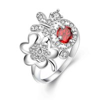 Binda Cross-border exclusive jewelry fashion pop ring Exquisite jewelry 925 silver factory direct wholesale