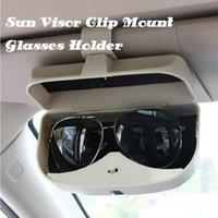 Storage Bags Isfriday Car Sun Visor Clip Glasses Holder Case Auto Sunglasses Card Ticket Pen Box