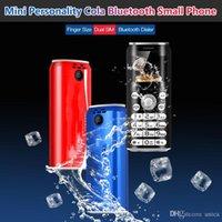 """Dual Sim Bluetooth Câmera Dialer Super Mini K8 Botão Móvel Telefone Móvel 1.0 """"Mãos Telefone Celulares MP3 Smallest China China Celular"""