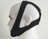 Soft Neoprene Anti Anti Snore Chin Support Support Cintura Snoring Cessation Anti-Apnéia Jaw Band Saúde Dispositivo DHL GRÁTIS