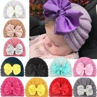 Caps & Hats Princess Baby Girl Hat Autumn Winter Knitted Born Elastic Infant Bonnet Beanie Toddler Kids Cap Accessories 1PC