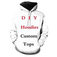 Women's Hoodies & Sweatshirts VIP Customers Customized 3D Printed Mens Harajuku Streetwear Autumn Hooded Sweatshirt Unisex Casual Jacket Tracksuits C9SI