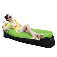 Mobili da campo gonfiabile divano ad aria piscina sacchetto a pelo da giardino all'aperto giardino spiaggia sedia a sdraio rapido pieghevole letto pigro