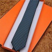 جودة عالية غزل مصبوغ الحرير التعادل العلامة التجارية الرجال الأعمال التعادل مخطط الرقبة العلاقات هدية مربع