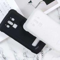 Kılıflar S90 Pro Durumda Silikon Kapak Yumuşak TPU Mat Puding Effen Siyah Telefon Koruyucu Kabuk Doogee S 90 Capa Coque 6.18 inç