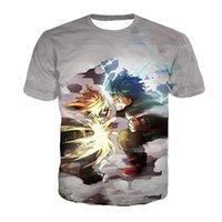 Benim Kahraman Akademi T Gömlek Erkekler Kadınlar 3D Baskı Meliodas Öfke Gömlek Günah Kısa Kollu Harajuku Streetwear Rahat Erkek T-Shirt Tops