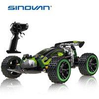 Sinovan RC Car 20km / H Máquina controlada por radio de alta velocidad 1:18 Toys de control remoto para niños regalos para niños RC Drift 210322