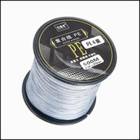 Braid Lines Sports & Outdoorswoen Factory Outlets Four Series 500 Meters Pe Wire Braiding Sea Fishing Anti-Bite Line Drop Delivery 2021 Xs6A