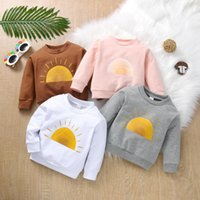 Hoodies & Sweatshirts Autumn Baby Girls Boys Sweatshirt Toddler Kids Sun Pullover Tops Long Sleeve Sweater Casaco Infantil