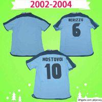 Retro 2002 2003 2004 Celta de Vigo Futebol Camisa Uniforme 02 03 04 Jersey Jersey Vintage Azul Clássico Camiseta Milosevic Mostovoy Jesuli