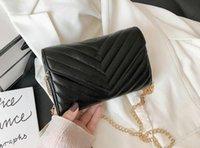 Designer Crossbody Handbags With dust bag tote sheepskin caviar metal chain gold Handbag 2022 Leather Flip cover diagonal Shoulder Bags