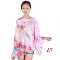 Variedad Camisa de gasa Versión coreana Chifón Magic Ropa Mantón Sol de protección solar Bufanda Fabricante