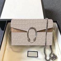 2021 Borsa a tracolla di alta qualità 17 cm 3 colori Classic Letter Portachiavi Diagonale Vendita Ladies Ladies Luxury Fashion Designer Designer Borse a tracolla