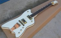 28 5000 G6199 special-shaped electric guitar Bai Seqin body Gold package edge Wine glass drawboard