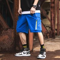 Men Shorts Sweat Hip Hop Streetwear Summer Military Cotton Mens Bermuda M-XXXL 2021 Cargo Casual Track Men's