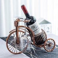 Современное простое украшение велосипедного вина рамы бытовой гостиной творческий железо
