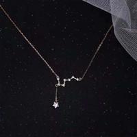 Большое ожерелье из дипперного ожерелья Роскошные незначительные дизайнерские смысл Suzanne Line Exquisite Coverbone Chain [открытие магазина]