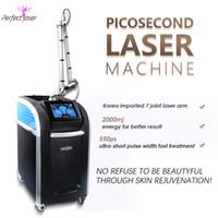 Последняя пикосекундная лазерная машина для удаления Peen Ref Review Review Picolaser Price Skin Revitalization Увеличенный коллаген 755NM Медицинские машины