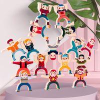 Descompresión Spinner Fidget Toy Prime Kids Hércules Apilada Música Pila equilibrada Alto Juego de escritorio Parental Bloques de construcción Tiktok Juguetes