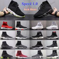 [OCTEU03]30$-3$ 2021 дизайнерские носки спортивные 1.0 тренер на роскошные женщины мужские бегуны кроссовки модные носки сапоги платформы растягивающиеся вязаные кроссовки