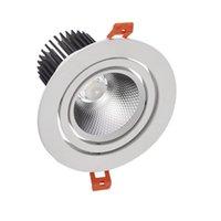 Фабрика Super 15W Dimmable COB светодиодные световые потолочные светильники с водителем теплый белый / холодный белый 85 ~ 265V / точные светильники