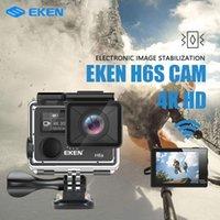 Original EKEN H6S Caméra d'action Ultra HD 4K 30FPS avec Ambarella A12 Chip à l'intérieur de 30M imperméable Eis GO Caméra Sport PRO CAM DVR 210319