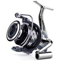 Baitcasting بكرات Seeknight Store De Series 1000-7000 المضادة للتآكل المعادن الصيد بكرة الغزل كامل 12 + 1 الكرات