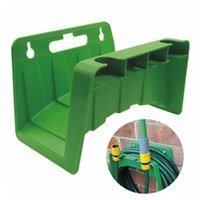 Wall Mounted Tap Watering Hose Organizer Wash Car Storage Holder Tools Pipe Reel Hanger Rack Home Garden Equipments