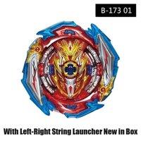 MKSAFN Bayblade Burst Superking B-173-01 Infinite Achille DM '1B Metal Spinning Top avec lance-lance L-R String Boxed 210803