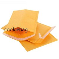 140*200mm Kraft Paper Bubble Envelopes Bags Mailers Padded Envelope Edibles With Bubbles Mailing edible 56