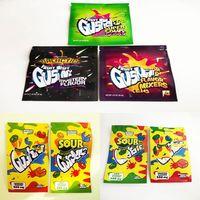Worlds Dankest Fruit Snack Snack 500mg Borse Gush Candy Acid Pravori tropicali Edibles Gummies Packaging Shh