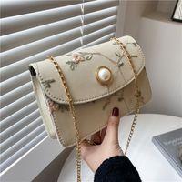 Borse a spalla casual HBP Borse perline rombiche 2021 New Girlish Solid Color Jounding Bags Borse a tracolla