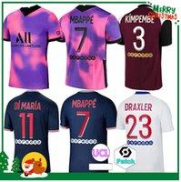 20 21 Mbappe Jersey 2020 2021 Icardi Neymar Shirt Jr Kimpembe Define Uniforme Maillot De Foot Hommes Enfants Adulto Homem + Kids Kit