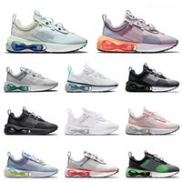 nike air max 2021 airmax 21 off white Top Fashion 2021 Arrival Sports Running Shoes Barely Green Venice 트리플 블랙 FLY MESH KNIT Photon Dust Mens Women Authentic Sneakers Trainers