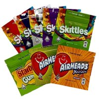 Skittles Pouch Starburst Embles Bag Airheads Gummies Mylar Сумки Упаковка Упаковка Упаковка Шицкая Кола Укусы Xtremes Молния Запах Запах Zipper