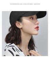 2021 Simple Temperament Fashion Pendientes Pendientes Pendientes Pequeños Anillo Coreano Set