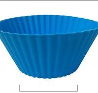 7 cm rotondo tazza rotonda tazza in silicone tazza di muffin fai da te muffa muffa stampo torta stampo in silicone torta in silicone stampo 309 s2