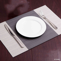 Pack of 4Pcs Placemats Kitchen Dinning Table Place Mats Non-Slip Dish Bowl Placement Heat Stain Resistant Table Decorative Mat J0507